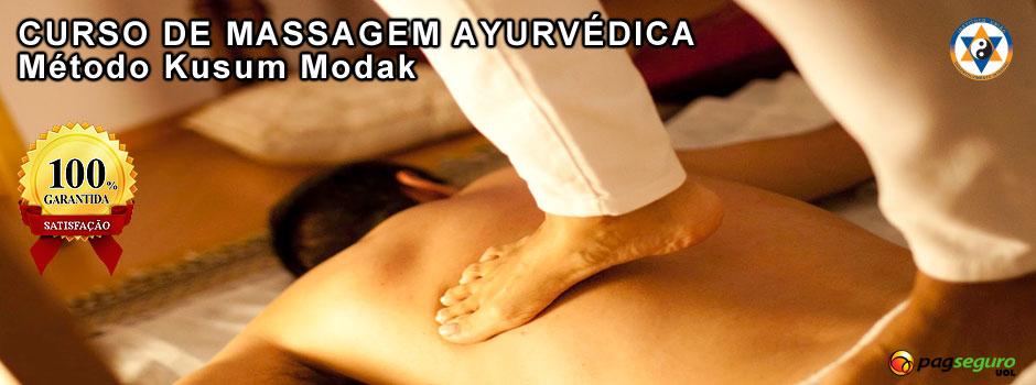 Curso Massagem Ayurvédica