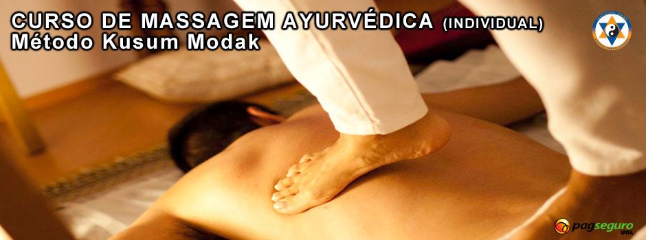Curso Massagem Ayurvédica Individual